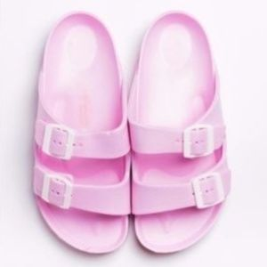 Pool Party / Shower Shoes – Baby Pink